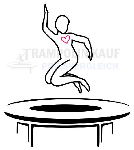 Trampolin Springen für die Gesundheit