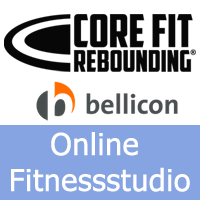 Das Online Trampolin Fitnessstudio Beitragsbild